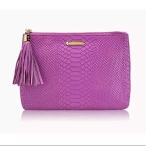 NWT Gigi New York Pink Orchid All in One Clutch